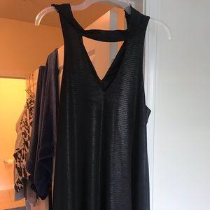 Black snake skin patterned boutique dress!